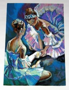 Detail Image for art Ballet Dancers