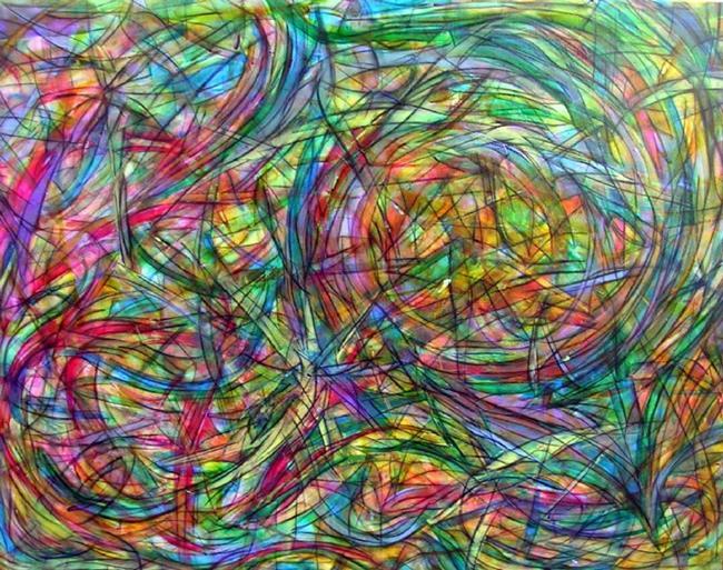 Art: SPRINGTIME BOUQUET2.jpg by Artist Dawn Hough Sebaugh