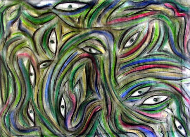 Art: EYES HAVE IT by Artist Dawn Hough Sebaugh