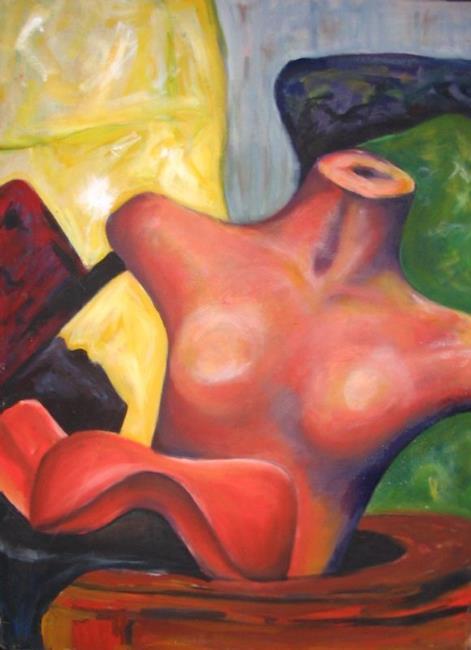 Art: Still Life Torso by Artist Patience