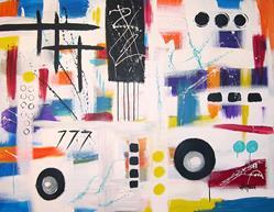 Art: Block Party by Artist Bethany Sky Whitman