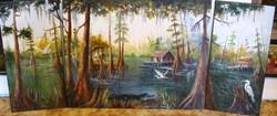 Art: Barbara's Bayou by Artist Barbara Haviland