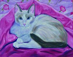 Art: My Muse Theo by Artist Tracey Allyn Greene