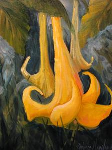 Detail Image for art Angel's Yellow Trumpet Floral