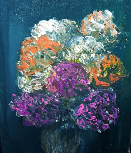 Art: THE BEGONIAS-sold by Artist LUIZA VIZOLI