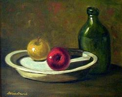 Art: Las Manzanas by Artist Doris H. David