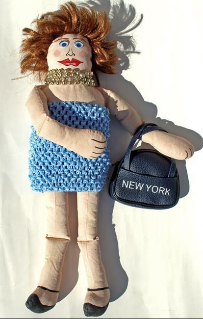 Art: New York Doll  by Artist Diane G. Casey