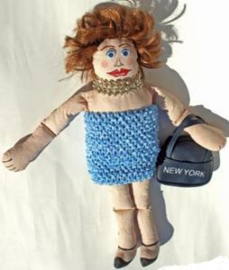 Detail Image for art New York Doll