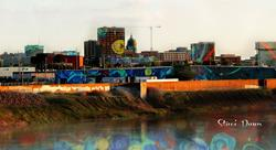 Art: Paint the City: Topeka Metro by Artist Staci Dawn