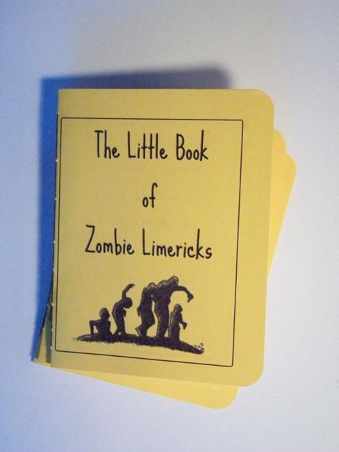 Art: The Little Book of Zombie Limericks Vol. 1 by Artist Emily J White