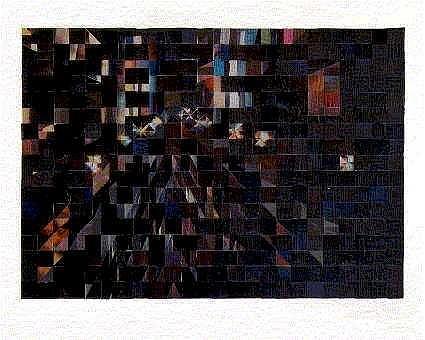 Art: Cityscape No. 3 -- Nightlights by Artist Jaye Coltharp
