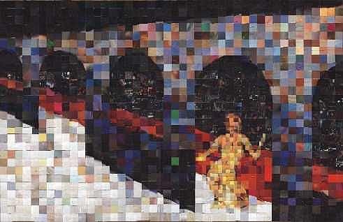 Art: Kneeling Woman by Artist Jaye Coltharp