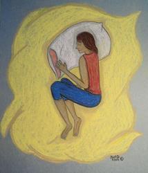 Art: Nap Time by Artist Dee Turner