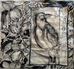 Art: Bird Garden by Artist Chris Jeanguenat