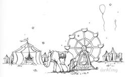Art: Circus by Artist Emily J White