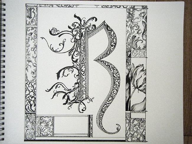 Letter Picture Art | Letter Art Ideas | Letter Frame Art
