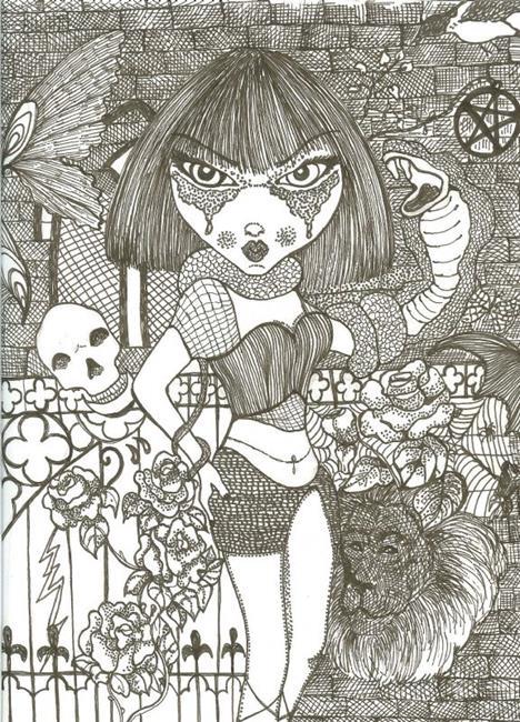 Art: Life & Death by Artist Nata ArtistaDonna