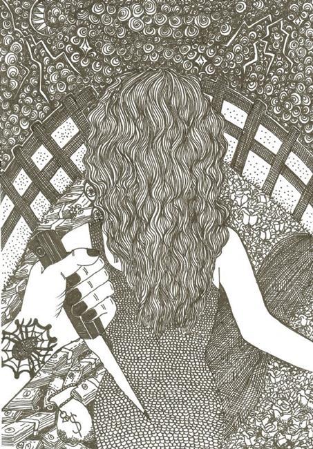 Art: EVIL GREED by Artist Nata ArtistaDonna