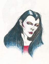 Art: vampire by Artist Noelle Hunt