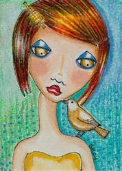 Art: Let's Be Friends by Artist Sherry Key