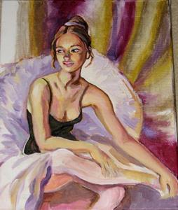 Detail Image for art Resting ballerina