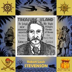 Art: Robert Louis Stevenson by Artist Paul Helm