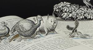 Detail Image for art The Animals' Escape
