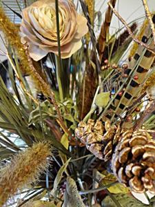 Detail Image for art Copper Centerpiece