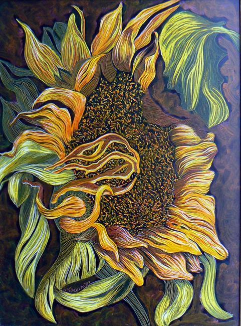 Art: sunflower single by Artist Naquaiya