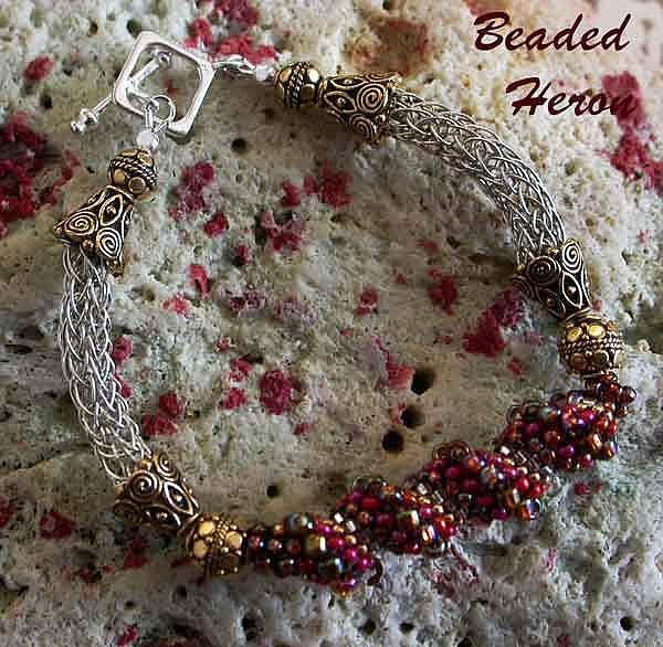 Art: Ou LaLa Bracelet by Artist Stephanie M. Daigle