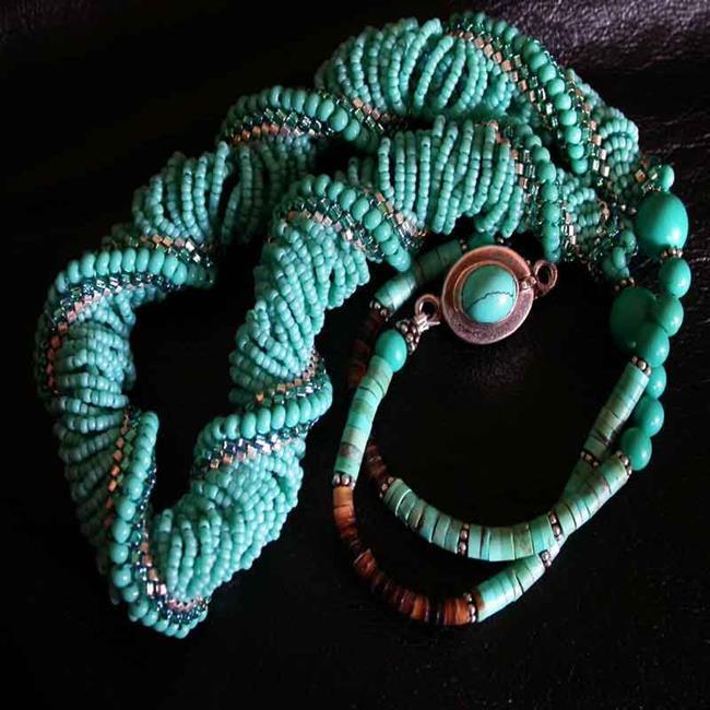 Art: Turquoise Seas by Artist Stephanie M. Daigle