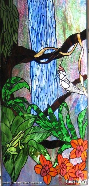 Art: Molucann Parrot by Artist Phil Petersen
