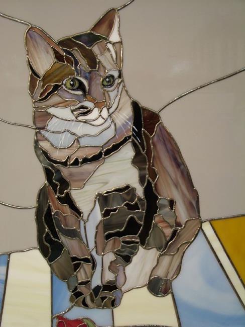 Art: Molly by Artist Linda J. McGarvey