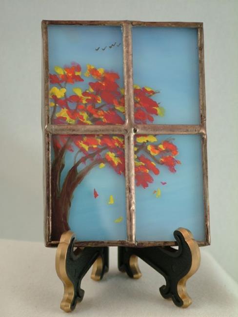Art: Four Seasons: Autumn by Artist Linda J. McGarvey