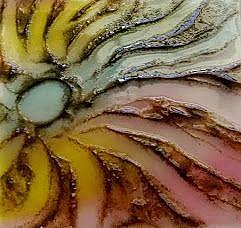 Art: swirled abstract by Artist Drita Harris