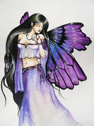 Art: Violet by Artist Nico Niemi