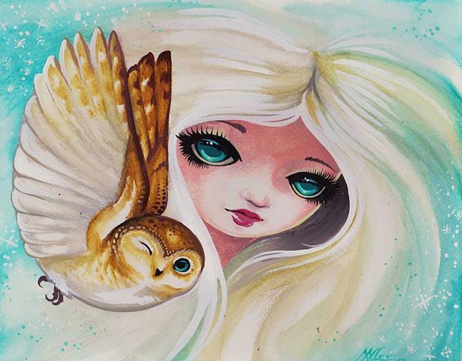 Art: Winter Princess by Artist Nico Niemi