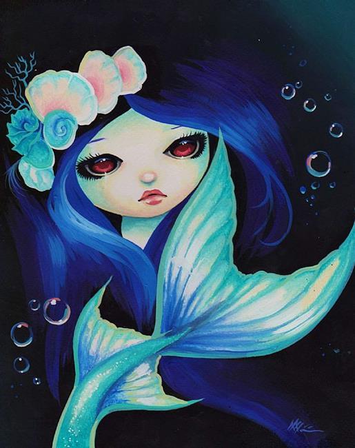 Art: MermaidAnnalisa.jpg by Artist Nico Niemi