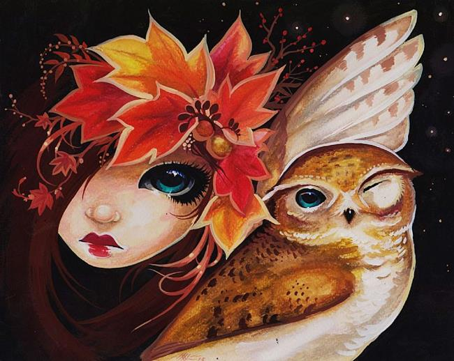 Art: Feathers and Fall by Artist Nico Niemi