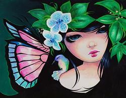 Art: Hummingbird Fairy by Artist Nico Niemi