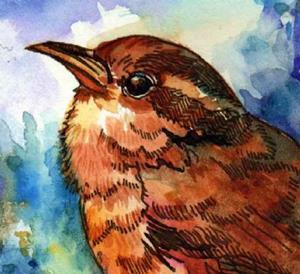 Detail Image for art Little Brown Bird