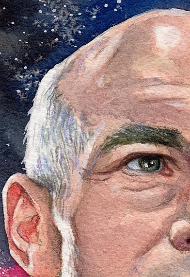 Captain Jean-Luc Picard - by Mark Satchwill from Paintings