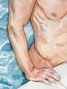 Detail Image for art Pool Boy