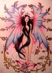 Art: Fae Rose by Artist Nico Niemi