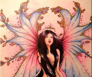 Detail Image for art Fae Rose