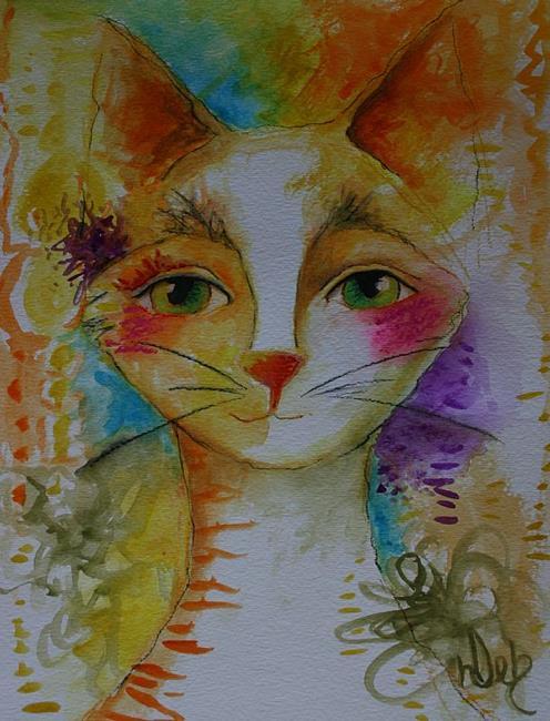 Art: Jewel by Artist Deb Harvey