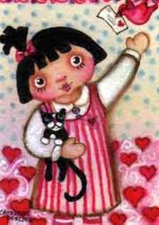 Art: Love Letters by Artist Catherine Darling Hostetter
