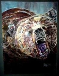 Art: George - SOLD by Artist Lisa Morgan