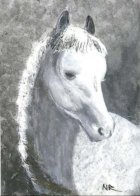 Art: Bevy by Artist Nata Romeo ArtistaDonna