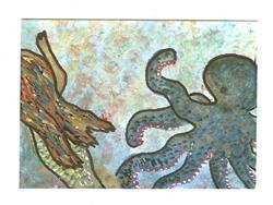 Art: King Of The Sea by Artist Nata ArtistaDonna